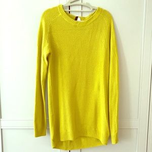 Oversized Mustard Yellow Sweater